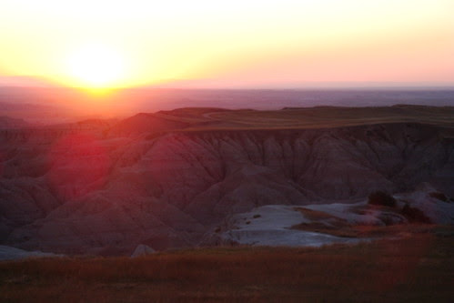 Badlands Sunset, Pinnacle Point