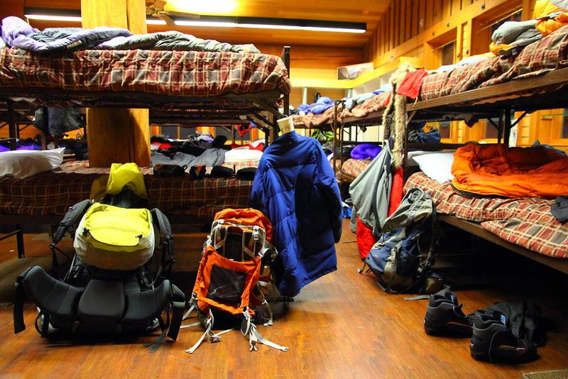 IMG_1942 Bunk Beds, Glacier Point Ski Hut