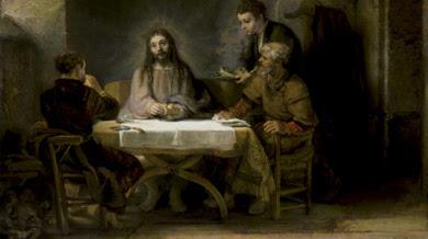 'Los peregrinos de Emaús o la cena de Emaús' (1648), de Rembrandt. | Efe