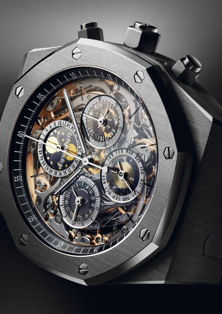 Royal Oak grande complication, #Audemars #Piguet #watch.