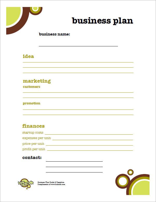 Kids Business Plan1