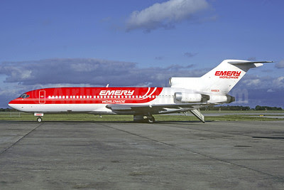 Emery Worldwide Boeing 727-51C N416EX (msn 19287) OKC (Christian Volpati Collection). Image: 911494.