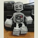 Come fare un pupazzo robot 1