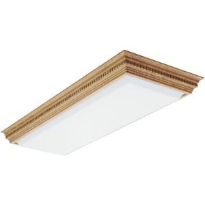Lithonia Lighting Dentil 11/2 ft. x 4 ft. 4Light Fluorescent Ceiling Fixture3902RE  The Home
