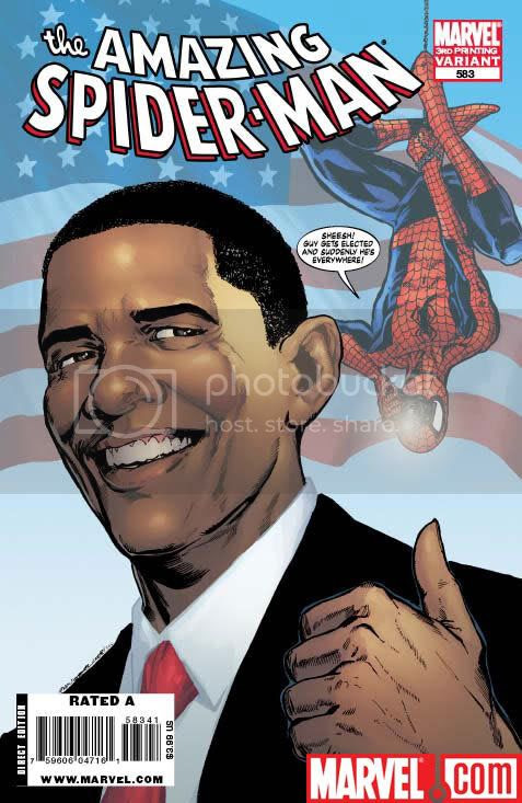 Homem-Aranha X Barack Obama