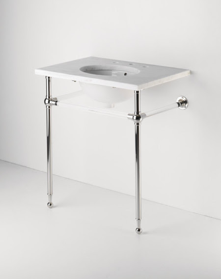 Sink Metal Console Home Design Architecture