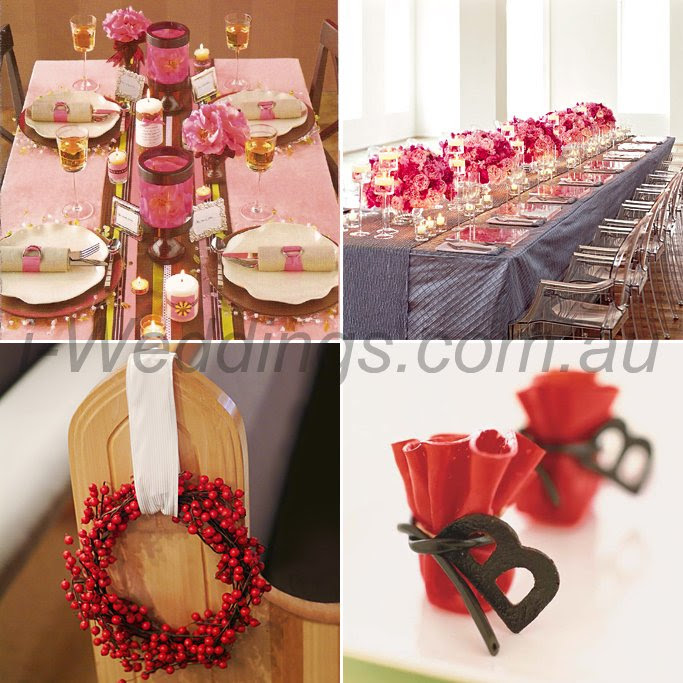 More iLoveThese ideas for your red themed wedding