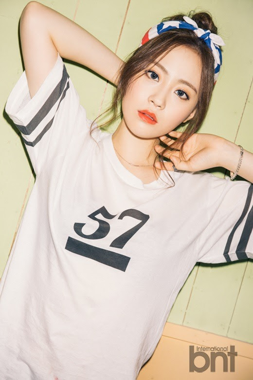 KARA Young Ji - bnt International July 2015