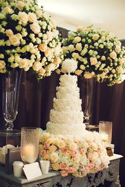 120 best images about Wedding Cake Tables on Pinterest