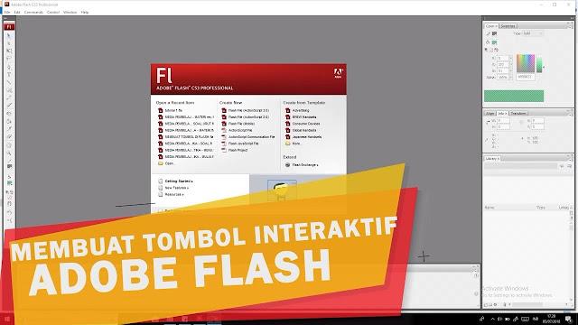 Tutorial Membuat Media Pembelajaran Dengan Adobe Flash Cs5