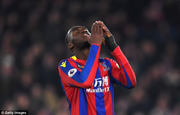 Antonio Conte is also keeping an eye on Crystal Palace's out-of-form striker Christian Benteke