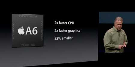 A6 processor adopted in the iPhone 5 How speed by working
