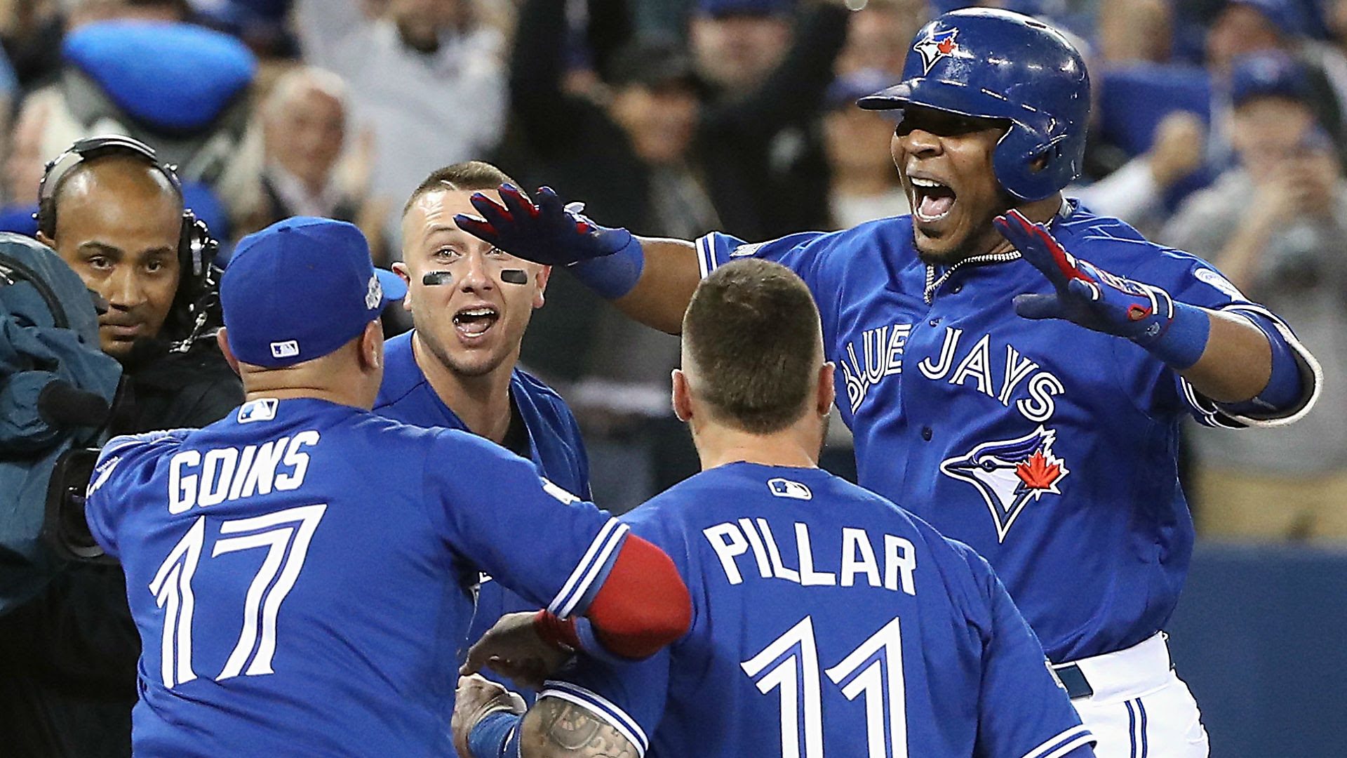 Image result for blue jays wild card 2016 win
