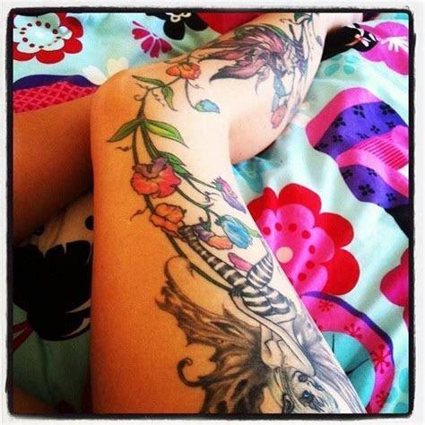 veins flowers tattoos leg tattoos cool tattoos