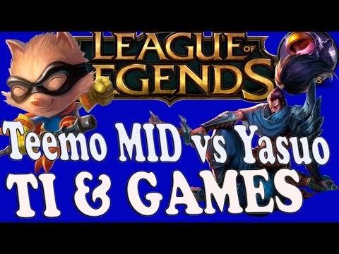 Battle MID Teemo Full AP vs Yasuo