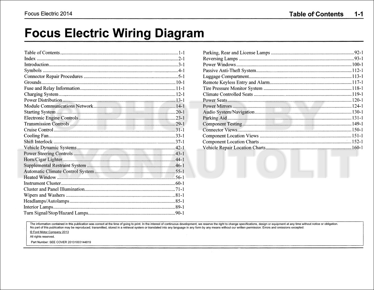 34 2014 Ford Focus Parts Diagram