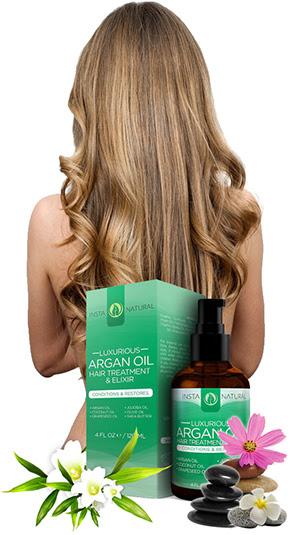 InstaNatural Argan Oil Hair Treatment \u0026 Elixir Review  Shampoo Truth