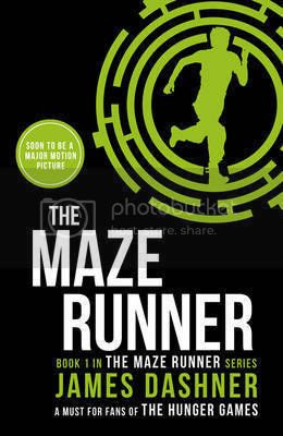 The Maze Runner by James Dashner 2014 cover
