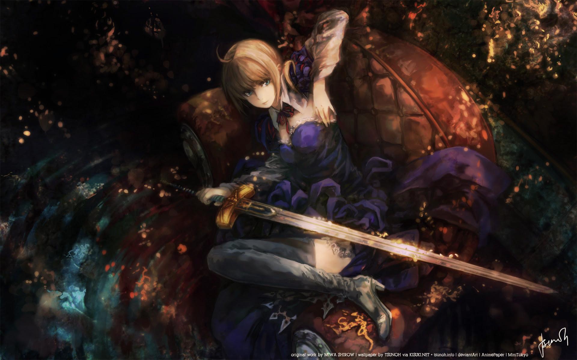 Fate Zero Wallpaper And Scan Gallery Minitokyo