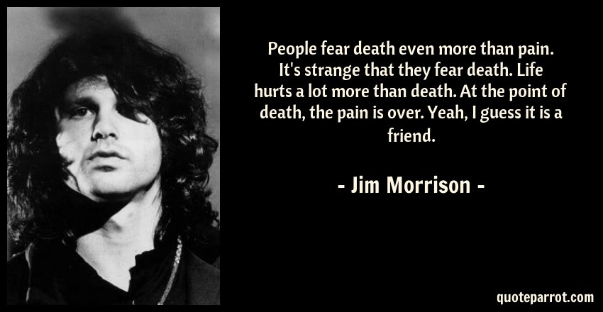 People Fear Death Even More Than Pain Its Strange Tha By Jim