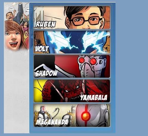 Tokoh Karakter dalam Komik Volt