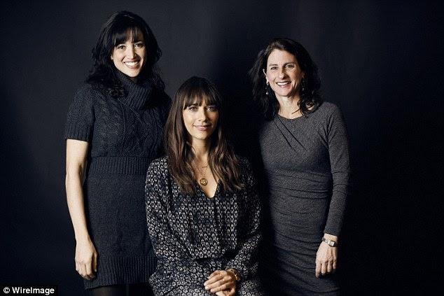Hot Girls: The director/producer Ronna Gradus, actress/producer Rashida Jones, center, and director/producer Jill Bauer from 'Hot Girls Wanted'