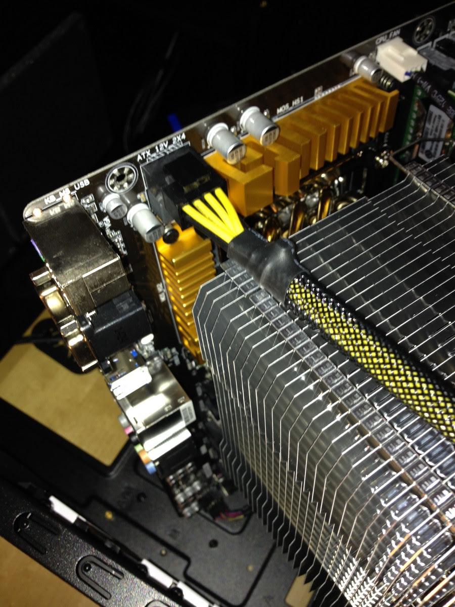 neuer Rechner für die Bildbearbeitung zusammenbau / new system for image processing mounting 013