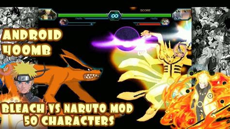bleach  naruto  modded  characters android mb