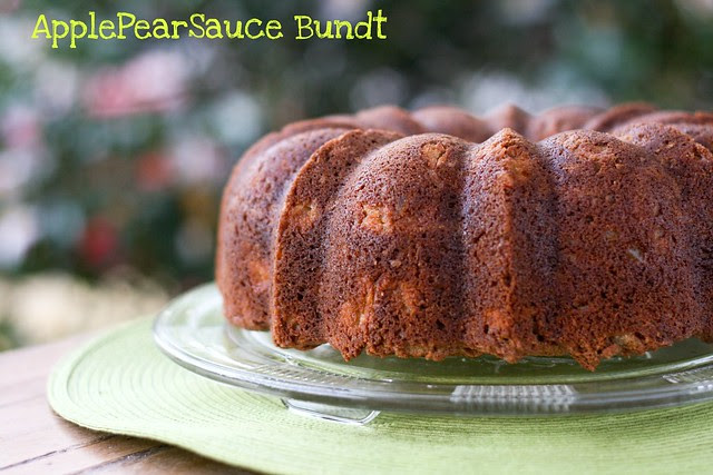 ApplePearSauce Bundt Cake - I Like Big Bundts 2011