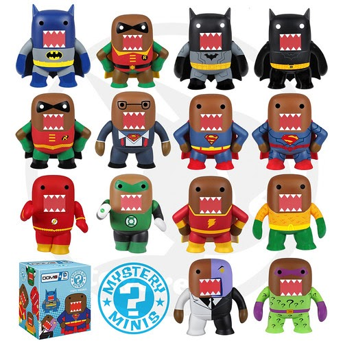 Domo Dc Mystery Minis Amp Pop Heroes From Funko