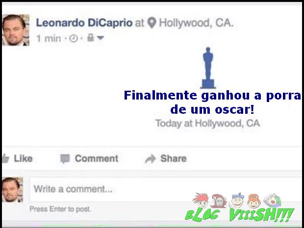 Blog Viiish - Leo e o Oscar 2