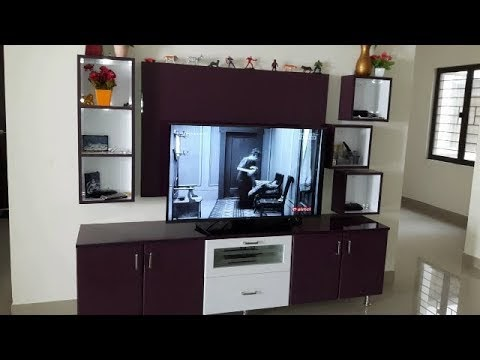 Black Currant & White Colour High Gloss Finish for Ramya Modular Kitchen, Mr Kodeeswaran Selaiyur,