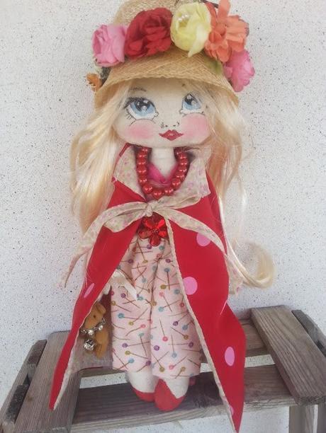 Una bambola per Caterina Bellandi