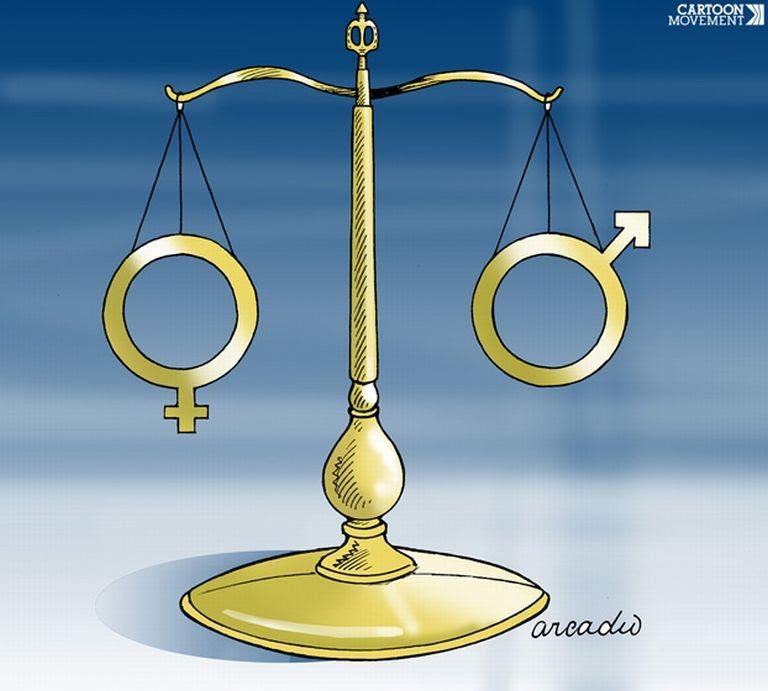 Igualdade entre os sexos  (Foto: Arcadio Esquivel / Cartoon Movement)