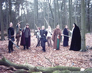 LARP: Sternenfeuer group from Germany