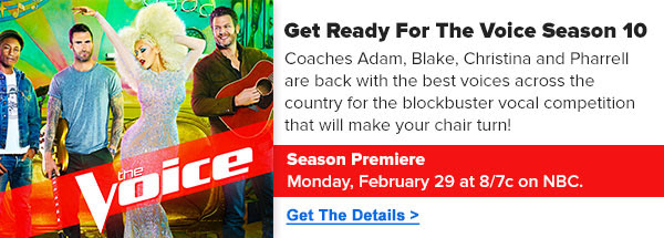 Get Ready For The Voice Season 10