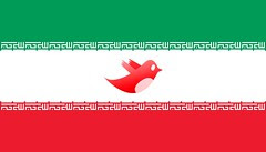 Iran Twitter Flag