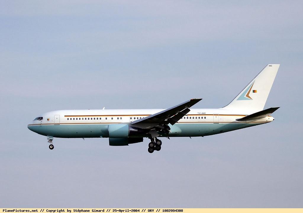 Cameroon Presidential Jet