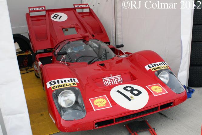 Ferrari 512M, Siverstone Classic