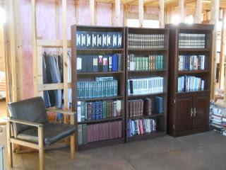 House Library Books in Shelves