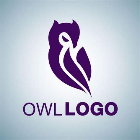 creative owl logo design vector  vector logo