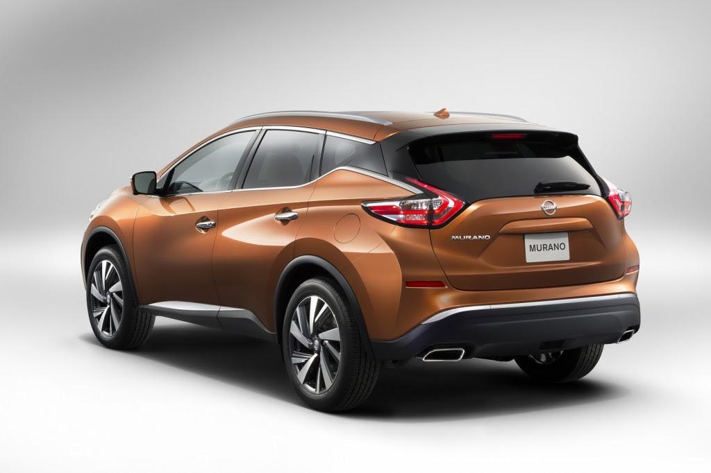 2015 Nissan Murano Live Photos: 2014 New York Auto Show