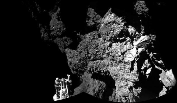 Η πρώτη φωτογραφία του ρομπότ Philae στον κομήτη Tchouri