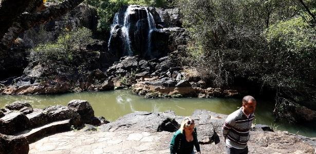 Cadê a cachoeira? - Ernesto Rodrigues/Folhapress