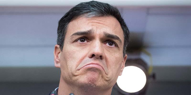 Resultado de imagen de Pedro Sánchez, sin vergüenza