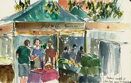 Farmers market, New York, NY
