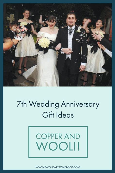7th Wedding Anniversary Gift Ideas   Wool and Copper Gift