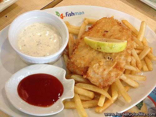 Fishman restaurant in BGC