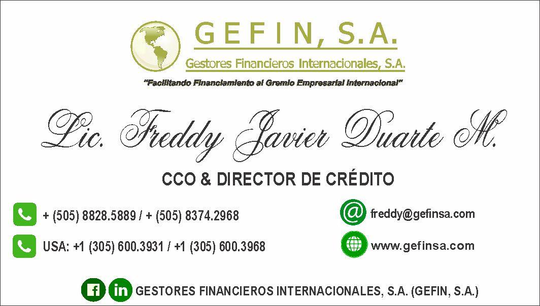 CCO & DIRECTOR DE CRÉDITO:
