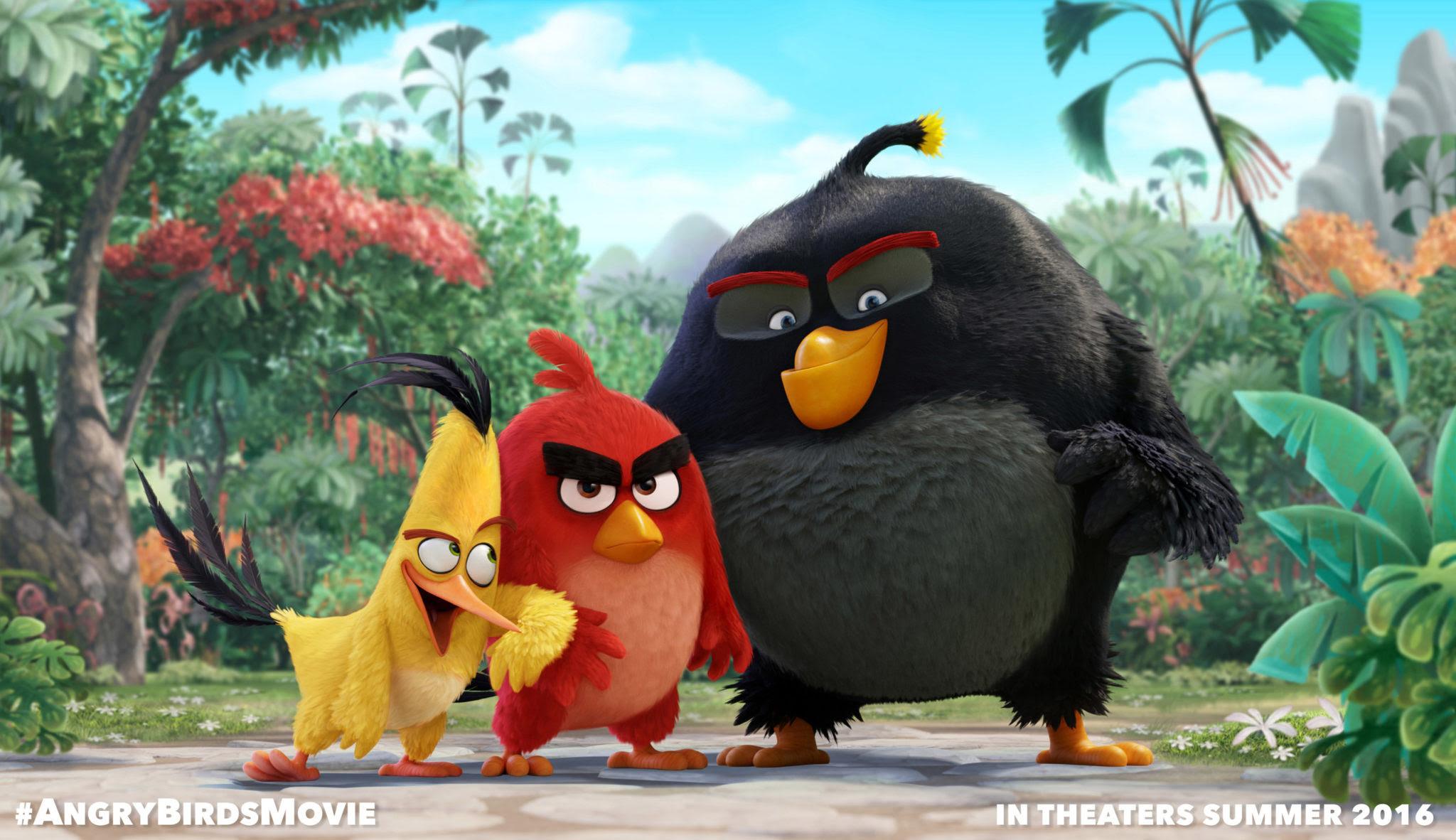 Resultado de imagem para angry birds 2016 posters